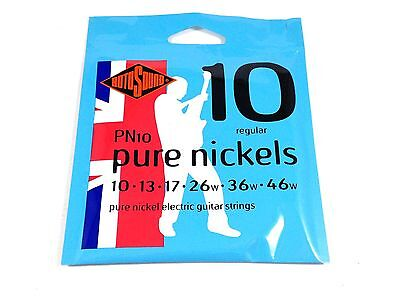 $ CDN17.74 • Buy RotoSound Pure Nickel Electric Guitar Strings Regular 10-46