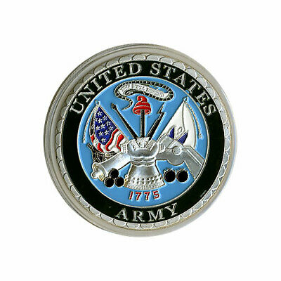 $11 • Buy Challenge Coin - United States Army Military SILVER New *