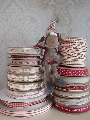 £1.75 • Buy Christmas Ribbon East Of India All Lengths Crafts Gift Wrap Presents All Designs