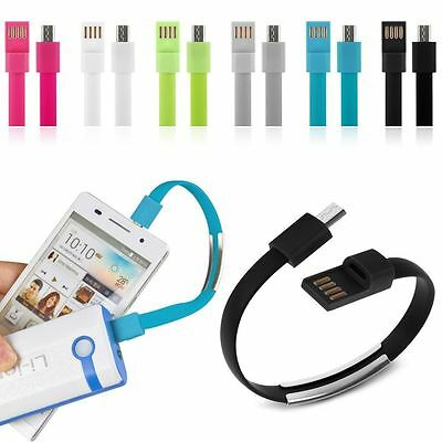 $1.27 • Buy Mini USB To USB Charging Bracelet Charger Data Sync Cable For Android Cell Phone