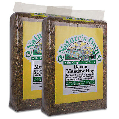 £7.99 • Buy Nature's Own Pet Hay Meadow Hay Bedding Feed For Rabbits Guinea Pigs 2kg-14kg