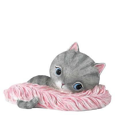 Hallmark By Enesco A28205 Little Meow Cat Feather Tickles Figurine • 12.06£