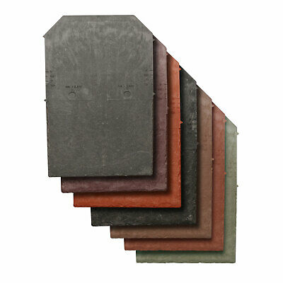 Tapco Synthetic Roof Slate Tile - Conservatory Porch Garage Shed Plastic Shingle • 23.90£