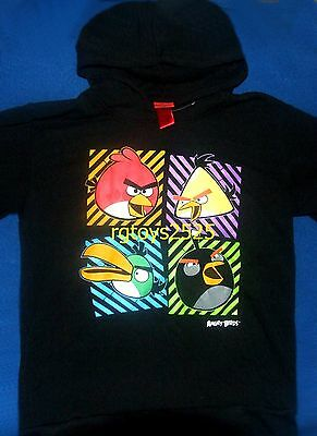 £19.16 • Buy Angry Birds Pullover Hoodie 10-12 L 14-16 XL 18 XXL New Childs Sweatshirt