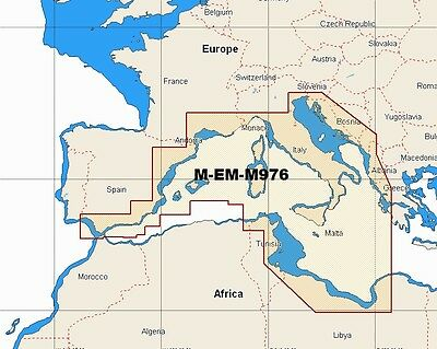 £225 • Buy C-MAP MAX WIDE M-EM-M976 SOUTH WEST EUROPEAN COASTS CHART MSD/SD Chart
