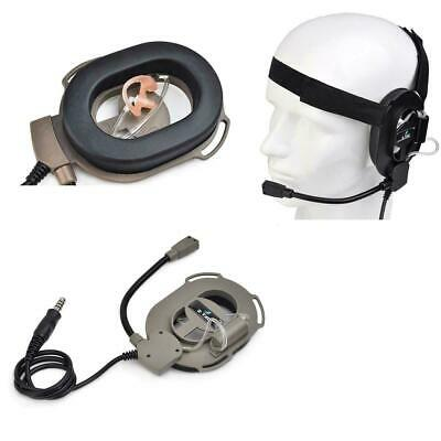 £17.99 • Buy Z-Tactical Z023 Bowman IV M-Tactical 2 Way Radio Headset Ear Piece Airsoft UK