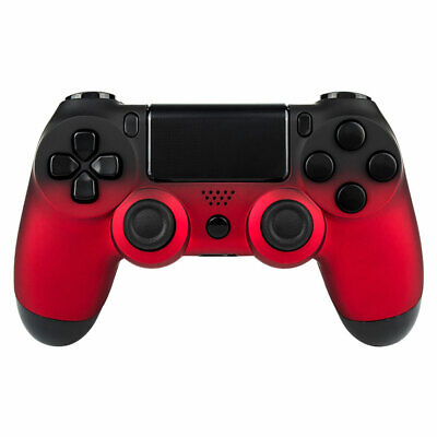 AU18.94 • Buy Shadow Red Faceplate Repair Cover Front Housing Shell For Sony PS4 Controller