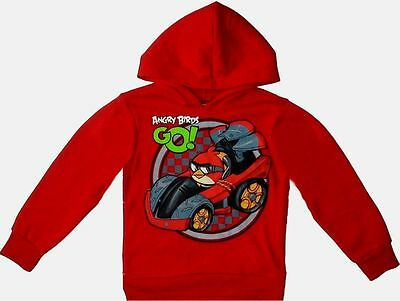 £19.16 • Buy Angry Birds Pullover Hoodie 10-12 Large New Childs Sweatshirt Red