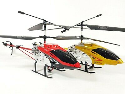 £44.99 • Buy Radio Control RC Huge Alloy Shark Gyro Force X Light Up Model Helicopter