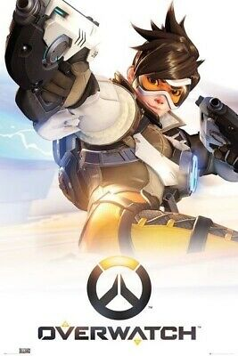 AU8.67 • Buy OVERWATCH ~ COVER ART ~ 24x36 Video Game Poster ~ BLIZZARD!