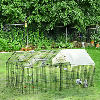 $159.99 • Buy Outdoor 87  Large Dog Kennel Crate Pet Enclosure Playpen Run Cage House W/Cover
