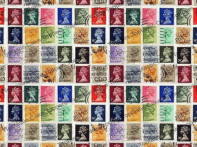 £4.15 • Buy Stamp Collecting Postage Philately Background Pattern Edible Icing Cake Topper