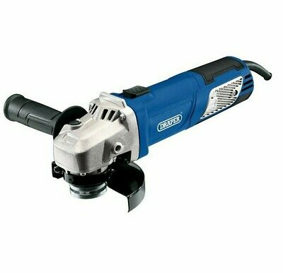 DRAPER Variable Speed 950w 115mm (4 1/2 ) Mini Angle Cutter Grinder 240v, 56488 • 38.99£