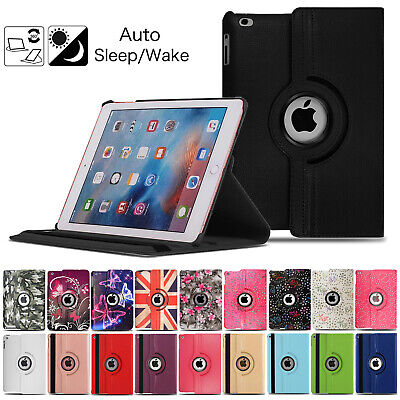 £3.99 • Buy 360 Rotating Case For Apple IPad 2 3 4 9.7  2019 2020 10.2  Leather Stand Cover