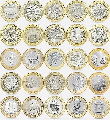 £29.95 • Buy Coins £2 1986 - 2020 Brilliant Uncirculated  Two Pound  Choose Dates BU