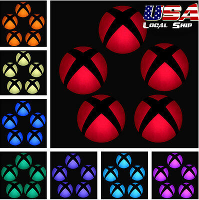 $1.79 • Buy Custom Power Button Cover Stickers Skin LED Color Change For Xbox One Console