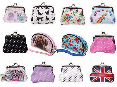 £2.65 • Buy Childrens Kids Ladies Small Coin Cards Purse Small Make Up Bag - 30 Choices