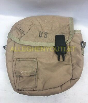 $ CDN4.32 • Buy US Military 2 QT Collapsible Water Canteen Cover Pouch Desert Tan VGC
