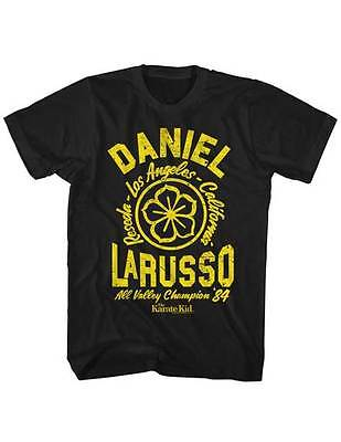 $20.70 • Buy Karate Kid Daniel Larusso All Valley Champ 84 Adult T Shirt Great Classic Movie