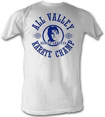 $25.70 • Buy Karate Kid All Valley Karate Champ Adult T Shirt Great Classic Movie