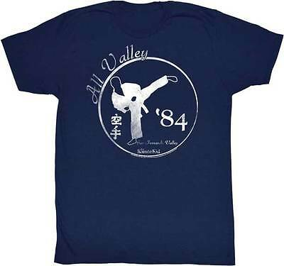 $22.70 • Buy Karate Kid All Valley 84 Faded Look Adult T Shirt Great Classic Movie