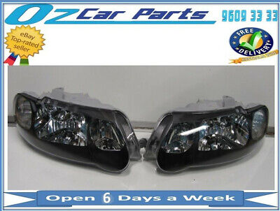 AU229 • Buy SS HEADLIGHTS NEW LEFT And RIGHT SIDE PAIR TEAR DROP FOR HOLDEN COMMODORE VX VU