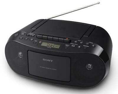 Sony Cfd-s70 Portable Cd Player Stereo Mega Bass Boombox Am Fm Radio Mp3 Aux In • 59.95£