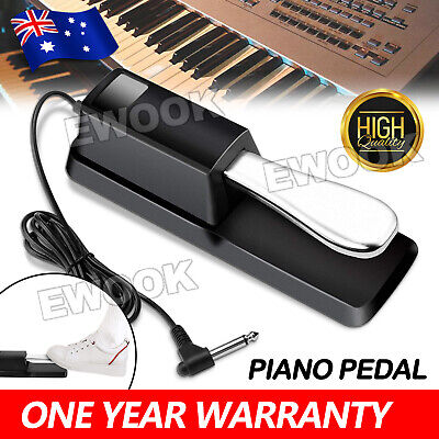 AU21.85 • Buy Piano Damper Sustain Pedal Foot Switch For Electric Yamaha Casio Roland Keyboard