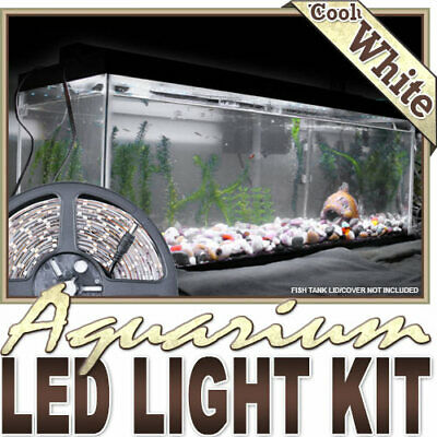 AU23.16 • Buy Aquarium Saltwater WhiteLED Strip Lighting Complete Package Kit Lamp Light DIY