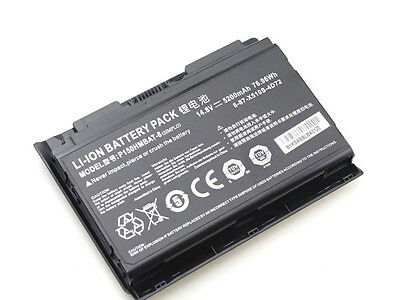 $63.79 • Buy Genuine P150HMBAT-8 6-87-X510S-4D72 Battery For Clevo P151HM Sager NP8150 NP8130