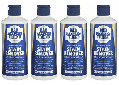 £10.99 • Buy X4  Bar Keepers Friend Stain Remover & Multi Surface Cleaner 250g  X4