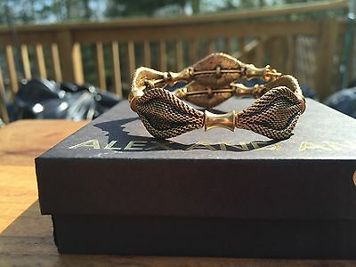 NEW ALEX And ANI VINTAGE 66 INDIE SPIRIT Beaded Russian GOLD WRAP Bracelet • 57.88£