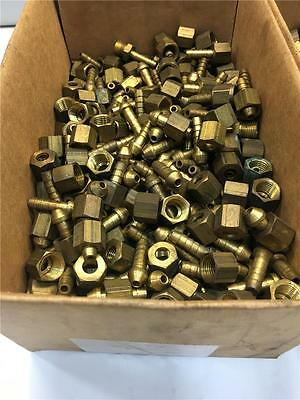 Brass 20PC Pneumatic Air Tool 1/4  Hose Swivel Compression Fitting Lot • 21.71£