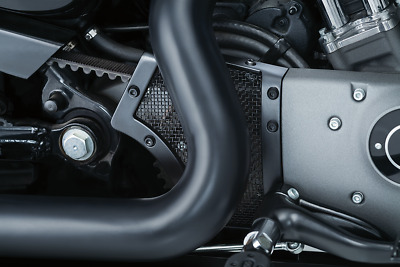 Kuryakyn Satin Black Mesh Front Pulley Cover For Harley Sportster XL 04-17 • 117$