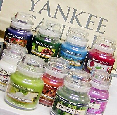 Yankee Candle SMALL JAR CANDLES 3.7 Oz RETIRED & NEW Scents VARIETY 100+ CHOICES • 8.58£