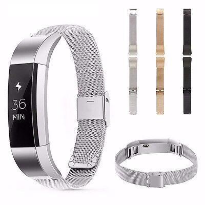 AU17.69 • Buy Milanese Loop Stainless Steel Replacement Watch Band Strap For Fitbit Alta & HR