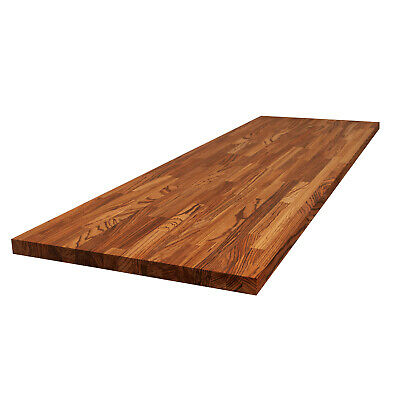 Zebrano Worktops - Solid Wood Worktop, Kitchen Breakfast Bars, Real Solid Timber • 19.99£