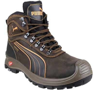 AU229.59 • Buy Puma Safety SIERRA NEVADA MID 630220 Mens Mid S3 HRO SRC Safety Boot Shoes Brown