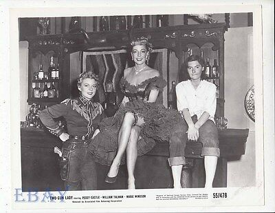 $ CDN63.55 • Buy Peggy Castle Sexy Cowgirl, Marie Windsor Sexy VINTAGE Photo Two-Gun Lady