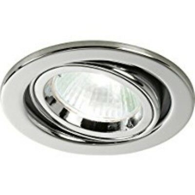 £8.99 • Buy Halolite Fire Protected Downlight, Polished Chrome