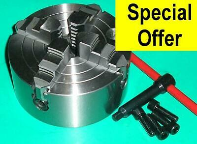 Gloster 4 Jaw Independent 100mm Lathe Chuck QUALITY • 58.95£