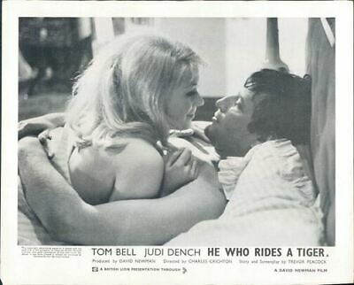 $ CDN26.43 • Buy He Who Rides A Tiger Annette Andre Sexy In Bed Tom Bell Original Lobby Card