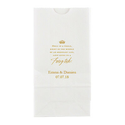 50 Love Gives Us A Fairy Tale Personalized Wedding Favor Bags Candy Buffet • 43.89£