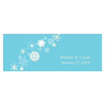 Winter Finery Large Window Cling Wedding Reception Ceremony Decoration • 39.95$