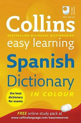 £3.10 • Buy Collins Easy Learning Spanish Dictionary (Collins Easy Learnin ,.9780007331512