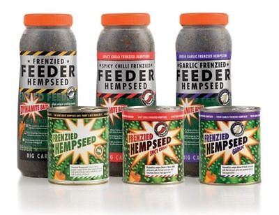 Dynamite Baits Frenzied Hemp Seed- Cans And Jars In Stock Flavours Chilli • 3.99£