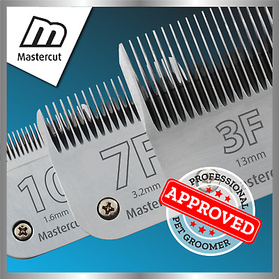 Mastercut Professional Dog Clipper Blades (fits Oster & Andis) • 20.50£