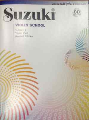 AU26.07 • Buy NEW Suzuki Violin School BOOK VOLUME 1 W/ CD REVISED EDITION
