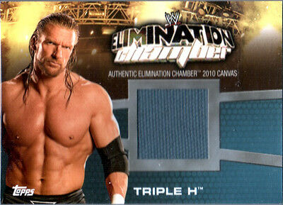 $ CDN15.86 • Buy WWE Triple H EC-3 Elimination Chamber 2010 Topps Event Used Mat Relic Card