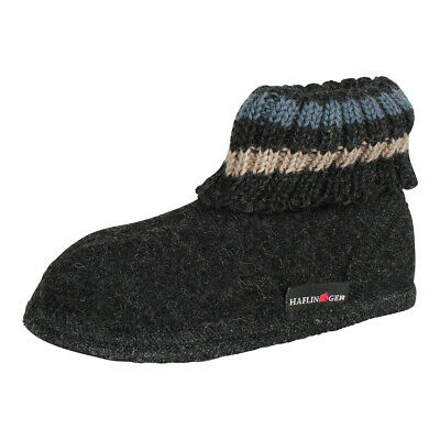 Haflinger Children Uni Slippers Boots Slippers Paul Graphite Grey • 21.43£